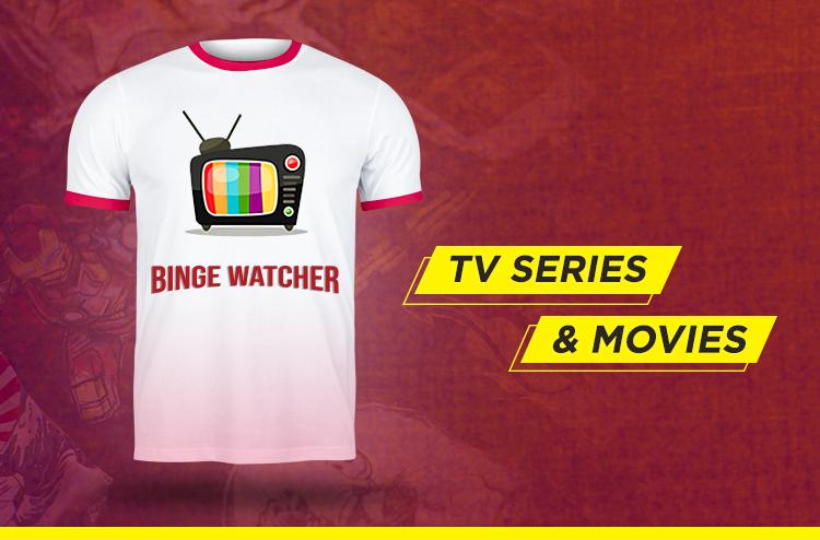 TV Series & Movies T-Shirt design ideas